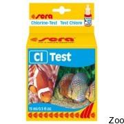 Тест Sera Chlorine Test для определения уровня содержания хлора (04810)
