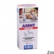 Препарат Агроветзащита Амит Форте акарицидный для собак