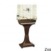 Пластиковая клетка с подставкой Imac Camilla для попугайчиков (03724)