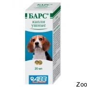 агроветзащита Барс капли ушные для собак