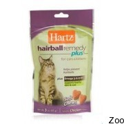 Hartz Hairball Remedy Plus™ For Cats & Kittens Soft Chews (н 11137)