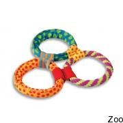 "Petstages Healthy Hoops ""три кольца текстильные"" (Pt190)"