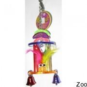 Погремушка Vo-Toys Pillar Rettl для средних попугаев (74320)