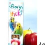 Палочки Fiory Sticks для волнистых попугаев с яблоком (2565-05)