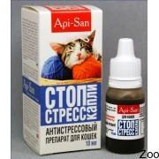 Капли Апи-Сан Стоп-Стресс для кошек