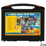 Набор тестов Sera Aqua-Test Box Marin для быстрого и надежного контроля за морской водой (04004)