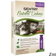 Капли Sentry Natural Defense натуральная защита от блох и клещей для кошек всех пород (22848)