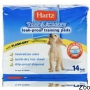 Пеленки Hartz Dog Pads для щенков и котят