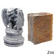 """Декорация Hydor H2Show Магический мир """"Волшебная книга с Гаргулией"""" В 00150 (38066)"""
