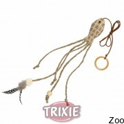 Trixie рыба с длинным хвостом на резинке 27см (45734)