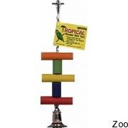 Игрушка с колокольчиком Vo-Toys Tropical Swing для попугаев (7714)