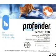 Bayer Profender 2,5-5 Kg