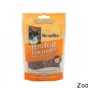 Nutri-Vet Hairball Soft Chews мягкие таблетки с курицей и тунцом для котов