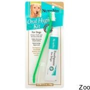 Набор Nutri-Vet Oral Hygiene Kit для гигиены пасти собак и котов, зубная паста и щетка (87491)