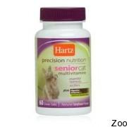 Hartz Senior Cat Vitamins мультивитаминный комплекс для престарелых котов (н 11461)