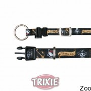 """Trixie ошейник """"Dog Pirates"""" (кожзам), чёрный (11007-11010)"""