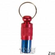 Trixie 2279 капсула на ошейник для адресса (красно-синяя)