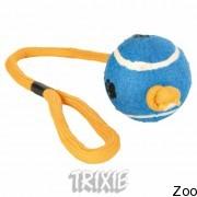 Trixie Trixie 3479 тенисный мяч на ленте ширина 6,5 см, длина 50 см