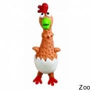 """Игрушка-пищалка """"День Рождения цыпленка"""" Petstages Kooky Baby Chicken для собак (pt638)"""