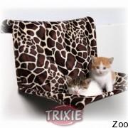 Trixie гамак на радиатор подвесной для кота плюшевый (43208)