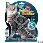 Trixie шлея для котов светоотражающая (4184)