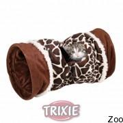 Trixie тоннель для кота игровой (плюшевый) (43138)