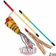Trixie палочка с веревкой для кота 2 штуки (4163)