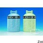 Nobby керамическая Ёмкость для корма голубая (H 78914)
