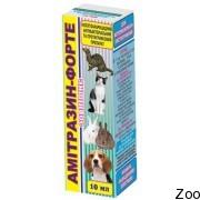 Продукт Амитразин-форте для кошек
