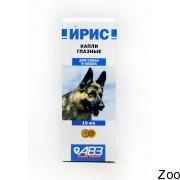 Глазные капли Агроветзащита Ирис для собак