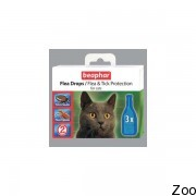 Капли от блох и клещей Beaphar Flea Drops for Cats для кошек c шестимесячного возраста (10838)