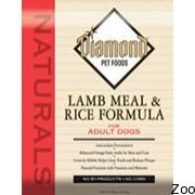 Корм Diamond Naturals для взрослых собак, с ягненком и рисом