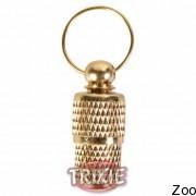 Trixie капсула на ошейник для адреса (цвет золота) (2278)