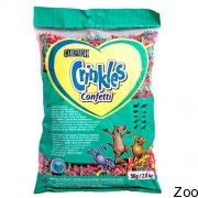 Серпантин Carefresh Crinkles Confetti для грызунов, птиц, рептилий (002102)