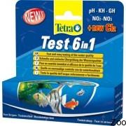 Тесты Tetra Test 6 in 1 для аквариумной воды (704154/175488)