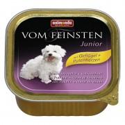 Консервы Animonda Vom Feinsten Junior с птицей и печенью индейки для щенков
