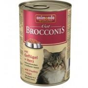 Консервы Animonda Brocconis с птицей и сердцем для кошек