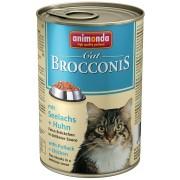 Консервы Animonda Brocconis с сайдой и курицей для кошек