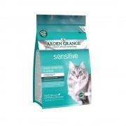 Корм Arden Grange Adult Cat Sensitive для кошек с чувствительным желудком