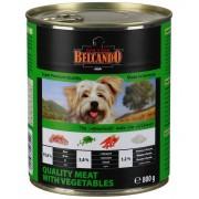 Консервы Belcando отборное мясо с овощами