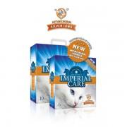 Наполнитель Cat Leader Imperial Care with Silver Ions ультра-комкующийся с ионами серебра