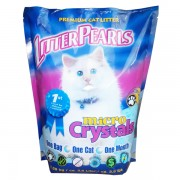 Кварцевый наполнитель Crystal Pearls Micro Crystals для туалетов кошек