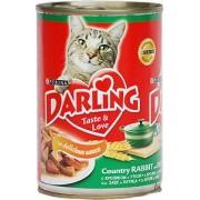 Консерва Darling для кошек с кроликом и уткой в соусе