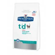 Корм Hills PD Feline T/D для поддержки здоровья ротовой полости у кошек